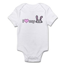 I Love my Bunny Infant Bodysuit