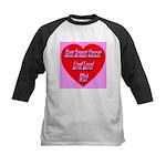 Beat Breast Cancer Live! Love Kids Baseball Jersey