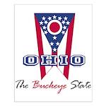Ohio - The BUCKEYE State Small Poster
