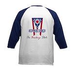 Ohio - The BUCKEYE State Kids Baseball Jersey