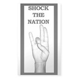 Silky's Shock the Nation Decal
