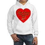 Beat Breast Cancer Live! Love Hooded Sweatshirt