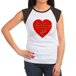 Beat Breast Cancer Live! Love Women's Cap Sleeve T