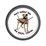 The REAL Thing Wall Clock
