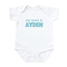 My name is Ayden Infant Bodysuit