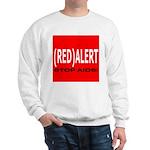 RED ALERT STOP AIDS Sweatshirt
