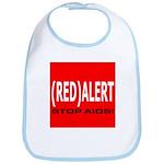 RED ALERT STOP AIDS Bib