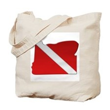 """Oregon Diver Flag"" Tote Bag"