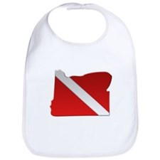 """Oregon Diver Flag"" Bib"