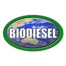 BIODIESEL Oval Decal