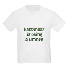Happiness is being a LIMNER Kids T-Shirt