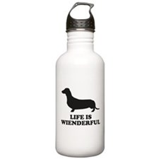 Life Is Wienderful Sports Water Bottle