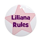 Liliana Rules Ornament (Round)
