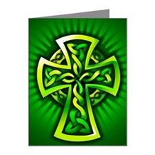 Celtic cross Note Cards (Pk of 10)