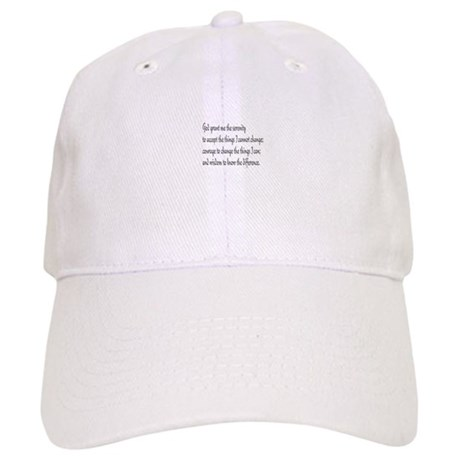 Serenity Prayer Cap