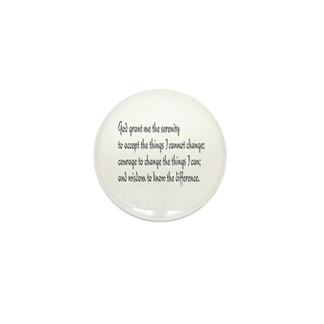 Serenity Prayer Mini Button