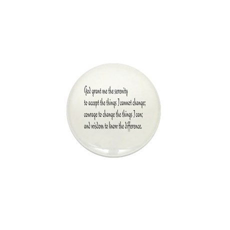 Serenity Prayer Mini Button (10 pack)