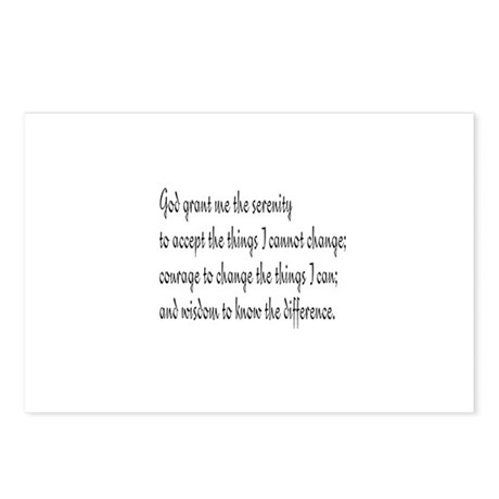 Serenity Prayer Postcards (Package of 8)