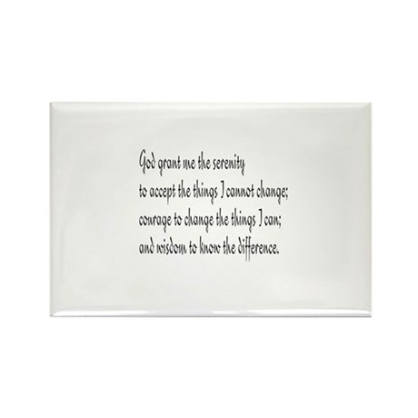 Serenity Prayer Rectangle Magnet (10 pack)