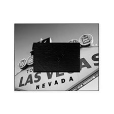 USA, Nevada, Las Vegas, welcome sign Picture Frame