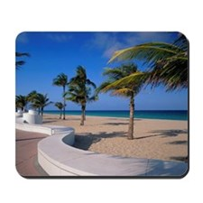 USA, Florida, Fort Lauderdale, winding pa Mousepad