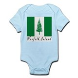 Norfolk Island Infant Bodysuit