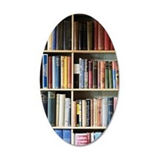 Various books on shelves Wall Decal
