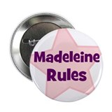 "Madeleine Rules 2.25"" Button (10 pack)"