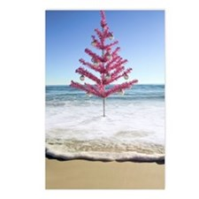 Artificial christmas tree Postcards (Package of 8)
