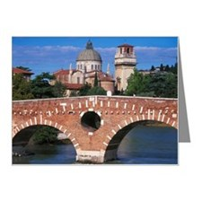 Peter's Bridge, Verona Note Cards (Pk of 20)