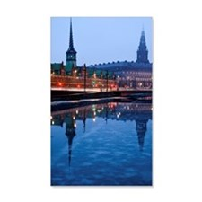 Denmark, Copenhagen, View over ca Wall Decal