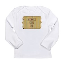 Cute Neutral colors Long Sleeve Infant T-Shirt