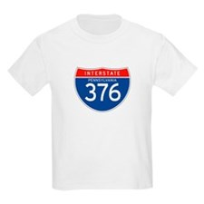 Interstate 376 - PA Kids T-Shirt