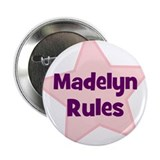 "Madelyn Rules 2.25"" Button (10 pack)"
