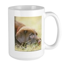 Large Chocolate Lab Mug