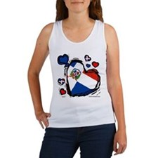 Dominican DR Heart Women's Tank Top