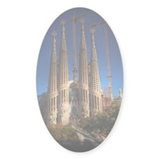 Barcelona sagrada familia Decal
