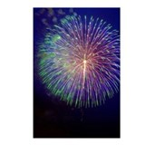 Firework Postcards (Package of 8)