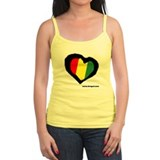 Rasta Heart Ladies Top