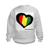 Rasta Heart Sweatshirt