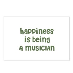 Happiness is being a MUSICIAN Postcards (Package o