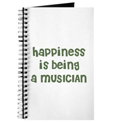 Happiness is being a MUSICIAN Journal