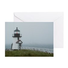 Brant Point lighthouse,  Greeting Cards (Pk of 20)