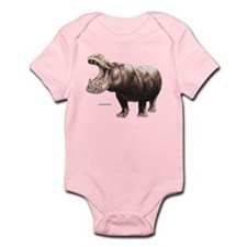 Hippopotamus Animal Infant Bodysuit