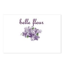 Belle Fleur Postcards (Package of 8)