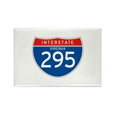Interstate 295 - VA Rectangle Magnet (100 pack)