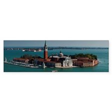 Venice from Campanile of St Bumper Sticker