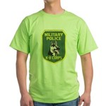 Military Police Canine Green T-Shirt