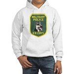 Military Police Canine Hooded Sweatshirt