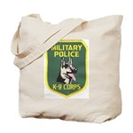 Military Police Canine Tote Bag